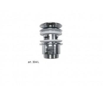 Донный клапан push open, хром Margaroli 304LCR