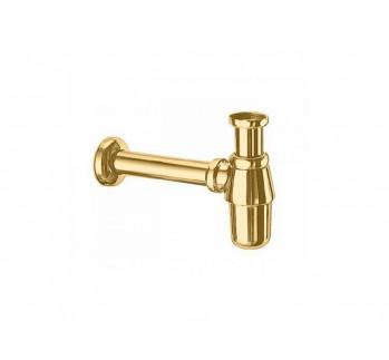 Сифон для раковины, золото, Margaroli 259GO