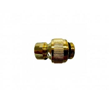 Шарнирное соединение 1/2 к 1/2 , золото Margaroli AC199GO