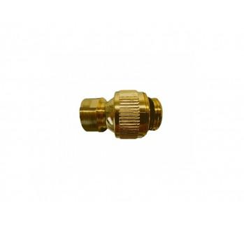 Шарнирное соединение 1/2 к 1/2 , бронза Margaroli AC199OB