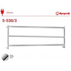 Полотенцесушитель электрический Margaroli Sereno 5-530/3, цвет: хром 5530/CR