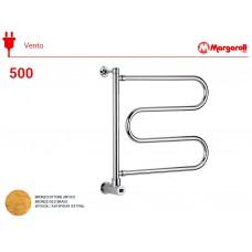 Полотенцесушитель электрический Margaroli Vento 500, цвет: бронза 500OBB