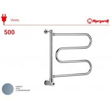 Полотенцесушитель электрический Margaroli Vento 500, цвет: сатин 500547SAB