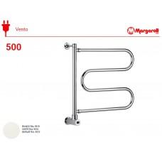 Полотенцесушитель электрический Margaroli Vento 500, цвет: белый500WHB