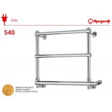 Полотенцесушитель электрический Margaroli Sole 540, цвет: бронза 5404703OBNB