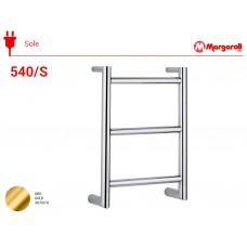 Полотенцесушитель электрический Margaroli Sole 540/S, цвет: золото 540/SGL