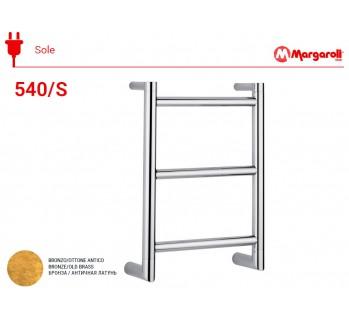 Полотенцесушитель электрический Margaroli Sole 540/S, цвет: бронза 540/SOB