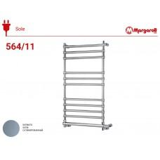 Полотенцесушитель электрический Margaroli Sole 564, цвет: сатин 5644711SAB