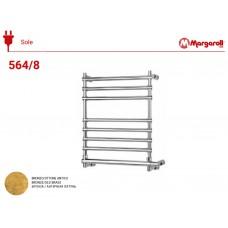 Полотенцесушитель электрический Margaroli Sole 564, цвет: бронза 5643708OBNB