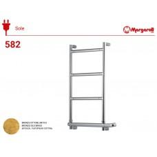 Полотенцесушитель электрический Margaroli Sereno 582, цвет: бронза 5824704OBNB
