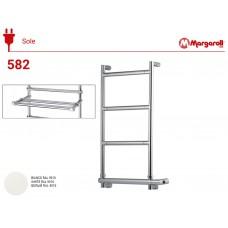 Полотенцесушитель электрический Margaroli Sereno 582, цвет: белая 58232504PWHB