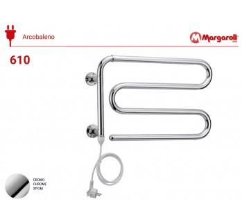 Полотенцесушитель электрический Margaroli Acrobaleno 610, цвет: хром 610CRC