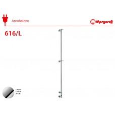 Полотенцесушитель электрический Margaroli Acrobaleno 616/L, цвет: хром 616CRB-1650