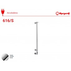 Полотенцесушитель электрический Margaroli Acrobaleno 616/S, цвет: хром 616CRB-900