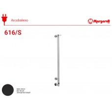 Полотенцесушитель электрический Margaroli Acrobaleno 616/S, цвет: черный матовый 616NOB-900