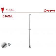 Полотенцесушитель электрический Margaroli Acrobaleno 616-X, цвет: хром 616XCRB-1650