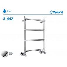 Полотенцесушитель водяной Margaroli Mini 3-442, цвет: хром 34423504CRN