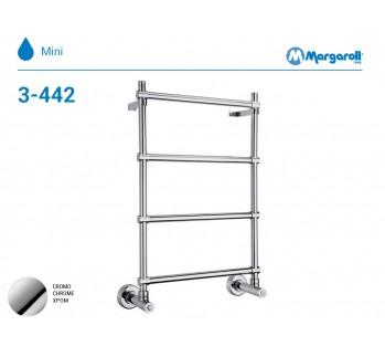 Полотенцесушитель водяной Margaroli Mini 3-442, цвет: хром 34424504CRN