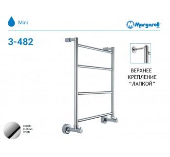 Полотенцесушитель водяной Margaroli Mini 3-482, цвет: хром 34824704CRN