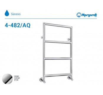 Полотенцесушитель водяной Margaroli Sereno 4-482/AQ, цвет: хром 44824704AQCRN