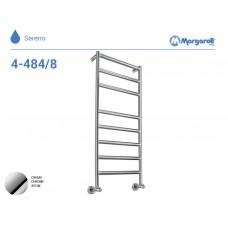 Полотенцесушитель водяной Margaroli Sereno 4-484/8, цвет: хром 44844708CRN