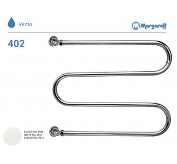 Полотенцесушитель водяной Margaroli Vento 402, цвет: белый 402WH