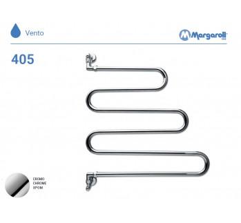 Полотенцесушитель водяной Margaroli Vento 405, цвет: хром 405CR