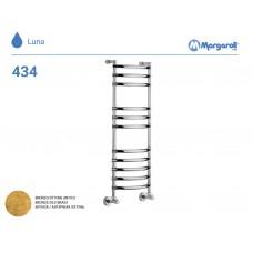 Полотенцесушитель водяной Margaroli Luna 434, цвет: бронза 4343711OBN