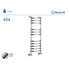 Полотенцесушитель водяной Margaroli Luna 434, цвет: хром 4343711CRN