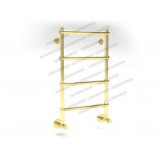 Полотенцесушитель водяной Margaroli Sole 442, цвет: золото 4423704GON