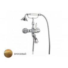 Смеситель для ванны с гарнитуром, бронза, Margaroli Classica 1004 RU1004AA01BR
